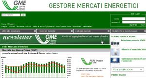 gestore mercati energetici