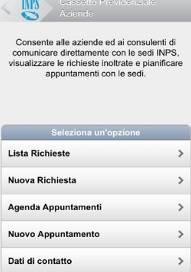 Nuovi servizi Inps mobile imprese e professionisti